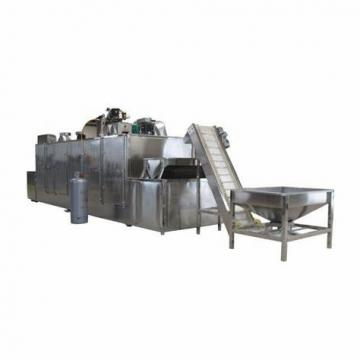 Industrial Automatic Chemical Material Silicon Carbide Graphite Polysilicon Silica Sand Tunnel Microwave Dehydration Dryer Drying Machine