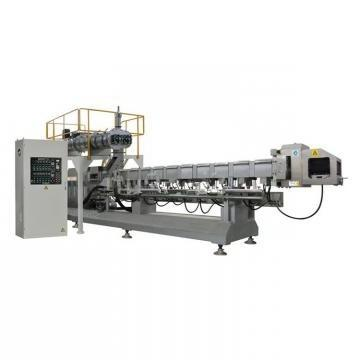 Double-Screw Textured Vegetarian Soy Protein Process Line Making Machine Soya Nugget Extruder