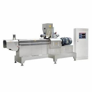 Automatic Soya Protein Chunks Making Machines Production Processing Line Soya Bean Extruder Machine Soya Nuggets Extruder