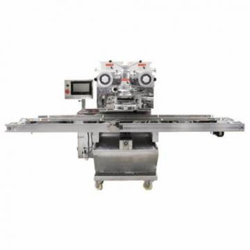 Automatic Horizontal Flow Wrap Flow Pack Pillow Bag Packing Packaging Sealing Wrapping Making Sandwiching Machine for Biscuits Cookies Energy Bar with Servo PLC